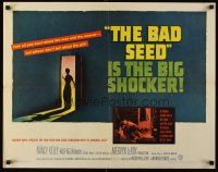 6j021 BAD SEED 1/2sh '56 the big shocker about really bad terrifying little Patty McCormack!
