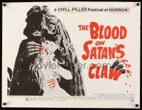 6j041 BLOOD ON SATAN'S CLAW 1/2sh '71 cool artwork of demon & sexy near-naked girl!