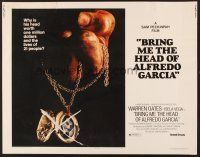 6j049 BRING ME THE HEAD OF ALFREDO GARCIA 1/2sh '74 it's worth one million dollars & 21 lives!