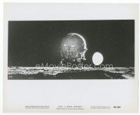 6r036 2001: A SPACE ODYSSEY 8x10 still '68 Stanley Kubrick, pod on surface of moon in Cinerama!