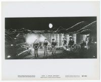 6r033 2001: A SPACE ODYSSEY 8x10 still '68 Stanley Kubrick, astronauts over obelisk in Cinerama!