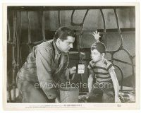 6r039 5000 FINGERS OF DR. T 8x10 still '53 Peter Lind Hayes & Tommy Rettig w/happy fingers hat!