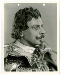 6r040 7 FACES 8x10 still '29 full-length Paul Muni in great costume as Don Juan by Alex Kahle!