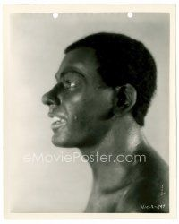 6r043 7 FACES 8x10 still '29 profile portrait of Paul Muni as black boxer Joe Gans by Alex Kahle!