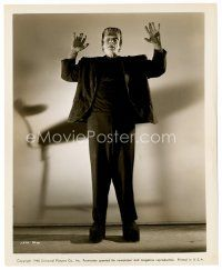 6r045 ABBOTT & COSTELLO MEET FRANKENSTEIN 8x10 still '48 best c/u of Glenn Strange as The Monster!