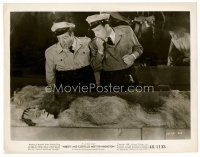 6r048 ABBOTT & COSTELLO MEET FRANKENSTEIN 8x10 still '48 Bud & Lou find Glenn Strange in crate!