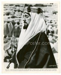 6r051 ALEC GUINNESS 8x10 still '62 great head & shoulders portrait from Lawrence of Arabia!