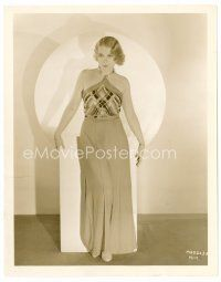 6r063 ANITA PAGE 8x10 still '20s full-length portrait of the sexy blonde in cool outfit!