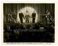 6r068 ANNABEL TAKES A TOUR 8x10 still '38 great image of Lucille Ball on stage w/Jack Oakie!