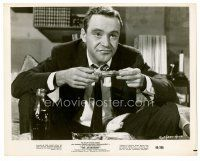 6r073 APARTMENT 8x10 still '60 wacky Jack Lemmon enjoying some fried chicken!