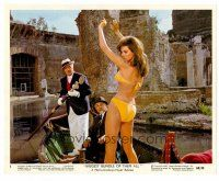 6r006 BIGGEST BUNDLE OF THEM ALL color 8x10 still #5 '68 De Sica & Robinson w/sexiest Raquel Welch