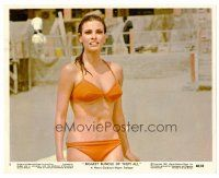 6r005 BIGGEST BUNDLE OF THEM ALL color 8x10 still #8 '68 best c/u of sexiest Raquel Welch in bikini!