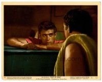 6r008 EAST OF EDEN color 8x10 still #10 '55 intense close up of James Dean, directed by Elia Kazan!