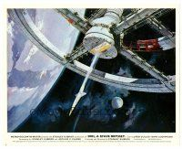 6r028 2001: A SPACE ODYSSEY English FOH LC '68 Stanley Kubrick, art of space wheel by Bob McCall!