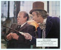 6r032 WILLY WONKA & THE CHOCOLATE FACTORY English FOH LC '71 c/u of Gene Wilder & Roy Kinnear!