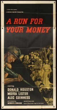 6w072 RUN FOR YOUR MONEY English 3sh '49 Welsh coal mining brothers win a London trip!