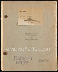 6w019 GORGEOUS HUSSY temporary complete script October 28, 1935, screenplay by Ainsworth Morgan