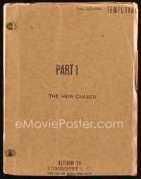 6w018 JIMMY THE GENT Part I temp draft script Oct 28, 1933, from James Cagney's personal library!