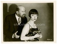 6w046 CANARY MURDER CASE 8x10 still '29 sexy cult star Louise Brooks & Gustav von Seyffertitz!