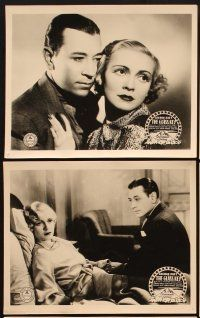 6w050 GLASS KEY 7 English FOH LCs '35 George Raft, Claire Dodd, Ann Sheridan, by Dashiell Hammett!