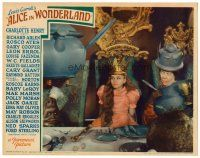6x025 ALICE IN WONDERLAND LC '33 Charlotte Henry crowned Queen with Edna May Oliver!