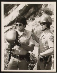 6z008 CHIPS 31 TV 7x9 stills '77 Erik Estrada & Larry Wilcox in California Highway Patrol action!