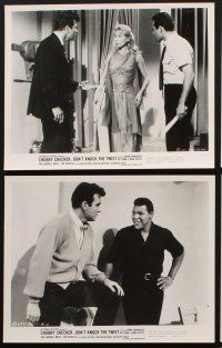 6z071 DON'T KNOCK THE TWIST 15 8x10 stills '62 Chubby Checker, Lang Jeffries, Mari Blanchard