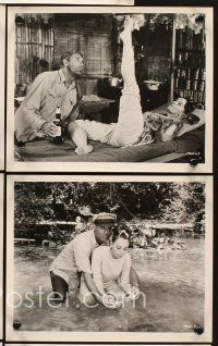 6z031 FATHER GOOSE 17 8x10 stills '65 great imags of Cary Grant, pretty Leslie Caron!