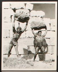 6z040 HERCULES, SAMSON, & ULYSSES 16 8x10 stills '65 the world's three mightiest men!