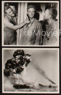 6z077 HOOK 15 8x10 stills '63 Kirk Douglas, Nick Adams & Robert Walker in the Korean War!