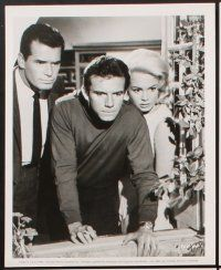 6z034 MAN COULD GET KILLED 17 8x10 stills '66 James Garner, sexy Melina Mercouri, Sandra Dee