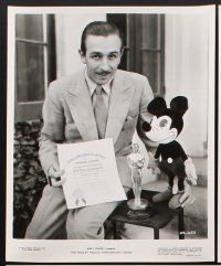 6z020 MICKEY MOUSE ANNIVERSARY SHOW 20 8x10 stills '68 Walt Disney, images of classic mouse!