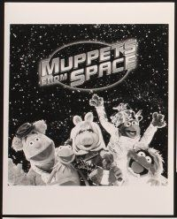 6z035 MUPPETS FROM SPACE 17 8x10 stills '99 Kermit, Miss Piggy, Fozzie Bear, Gonzo, Animal!