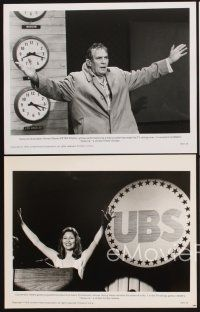 6z080 NETWORK 15 8x10 stills '76 Faye Dunaway, Robert Duvall, William Holden, Peter Finch