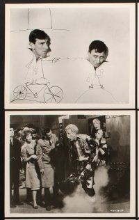 6z054 POSTMAN'S KNOCK 16 8x10 stills '62 wacky mailman Spike Milligan, mixed up w/crime & romance!