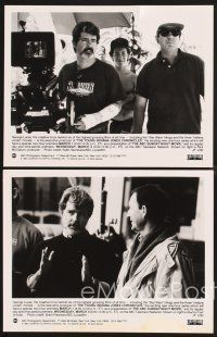 6z012 YOUNG INDIANA JONES CHRONICLES 29 TV 7x9 stills '92 Sean Patrick Flanery, George Lucas!