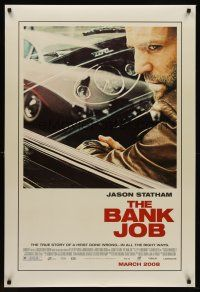 7c033 BANK JOB advance DS 1sh '08 Jason Statham in a story of a heist gone wrong!
