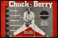 7m020 CHUCK BERRY HAIL! HAIL! ROCK 'N' ROLL French 31x47 '87 Chuck Berry, different image!