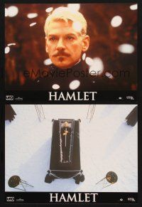 7m060 HAMLET 12 French LCs '96 Kenneth Branagh, Julie Christie, Billy Crystal, Depardieu, Heston