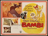 7m626 BAMBI Mexican LC R70s Walt Disney cartoon deer classic, great art with Thumper & Flower!