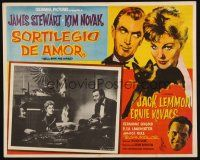 7m628 BELL, BOOK & CANDLE Mexican LC '58 sexy witch Kim Novak, Jack Lemmon & Elsa Lanchester!