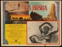 7m629 BIBLE Mexican LC '67 Richard Harris as Cain kills Franco Nero as Abel, John Huston epic!