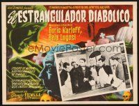 7m676 BODY SNATCHER  Mexican LC R50s cool border artwork of creepy Boris Karloff!