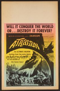 7m132 ATRAGON Benton WC '65 Ishiro Honda's Kaitei Gunkan, most fantastic science shocker ever filmed