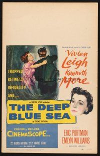7m170 DEEP BLUE SEA WC '55 Kenneth More is unfaithful to wife Vivien Leigh, Anatole Litvak