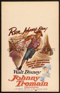 7m230 JOHNNY TREMAIN WC '57 Walt Disney, from the Esther Forbes novel, art of Hal Stalmaster!
