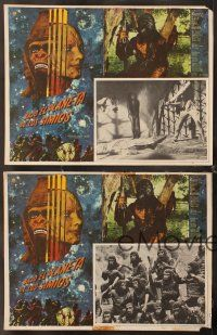 7m560 BENEATH THE PLANET OF THE APES 4 Mexican LCs '70 sci-fi sequel, different border art!