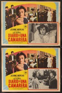 7m505 DIARY OF A CHAMBERMAID 8 Mexican LCs '64 Jeanne Moreau, directed by Luis Bunuel!