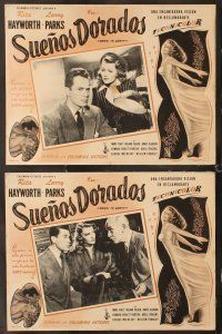 7m507 DOWN TO EARTH 8 Mexican LCs '46 sexiest Rita Hayworth, Larry Parks
