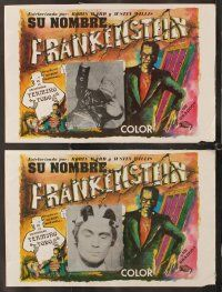 7m508 DR FRANKENSTEIN ON CAMPUS 8 Mexican LCs '70 wacky Canadian monster movie!